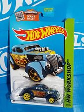 Hot Wheels 2015 Super Treasure Hunt Heat Fleet Pass'n Gasser Dark Blue