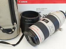 Canon EF 70-200mm F/2.8 L IS USM Lens Excellent Condition