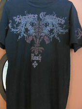 XTREME COUTURE Affliction RUSH George St. Pierre Black MEDIUM Signature Series