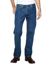 Jeans da uomo blu stonewashed Taglia 34