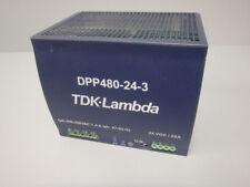 DPP480243       - TDK-LAMBDA -    DPP480-24-3 /    MODULE D'ALIMENTATION   USED