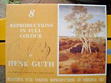 HENK GUTH 8 Reproductions In Full Colour in  Folder with Signature free post