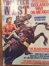 Frontier West Magazine:Billy Smith Law to Wichita/Showdown at Bad Axe,June 1975