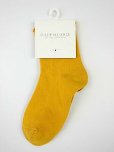 Happyology Baby Kids Unisex Ankle Socks Mustard