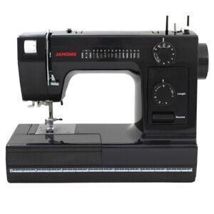 Janome HD 1000 - Black Edition Sewing Machine w/ Bonus Accessories