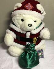 1998 Dayton Hudson Santa Bear Collectable Christmas Plush Santabear