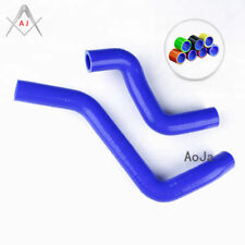 Blue Silicone Radiator Hoses For TOYOTA STARLET GLANZA 4EFTE TURBO EP91 86-89