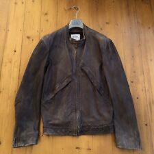 Vivienne Westwood Leather Bomber Jacket. 54 XXL. Brown. Excellent Condition!