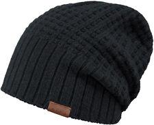Barts Mütze HUDSON Beanie black ONE SIZE schwarz unisex Ganzjahres Mütze