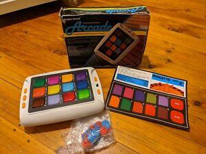Vintage Radio Shack Computerized Arcade Handheld Game 12 In 1 Unit Works