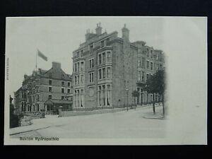 Derbyshire BUXTON The Buxton Hydropathic c1903 UB Postcard by Valentine