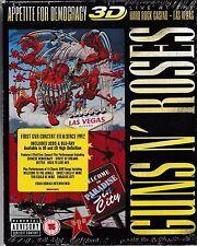 Guns N' Roses- Live at the Hard Rock Casino Las VegasDeluxe 3D Bluray+2CD sealed
