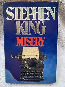 Misery, Hardback, Hodder & Stoughton, Stephen King 1st edition
