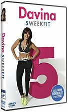 Davina 5 Week Fit 2016 DVD Fitness Exercise Diet & Fitness Workout FAST & FREE