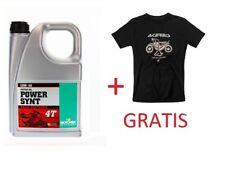 Power Synt 4T 10W/50 4L + Original Acerbis T-Shirt Größe M