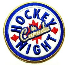 Hockey Night in Canada  patches Iron On Sew On Embroidered Applique Craft