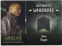 Arrow 3 Relic Wardrobe Costume Card John Diggle Leather Jacket M06 M-06