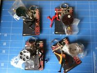 Banpresto,Lupin The 3rd,Key-holder with Reel & Figure,All 4 items Complete Set