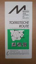 ► 1000 jaar wonen in MILLEN (RIEMST) - Toeristische route (folder zonder datum)