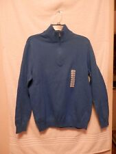 NWT Sun River Clothing Co. Men's 1/4 Zip Sweater/ Size Large