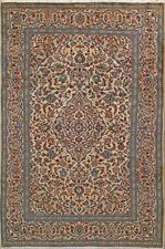 "6' 7"" x 9' 6""  Kashan, Wool,  Authentic Hand Knotted Persian Rug"