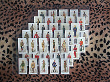 Cigarette Card : Player : Military Uniforms of the British Empire Overseas : Set