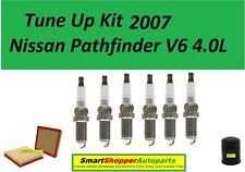 Tune Up Kit 2007 Pathfinder V6 Laser Iridium OE Spark Plug, Oil Filter, Air Filt
