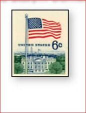 USA1338 American Flag over White House 1 pc