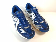 Asics Gel Volleylyte Womens Size 13 White Blue Athletic Gym Volleyball Sneakers