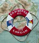 Old Vintage Falklands War Troopship SS Canberra P&O 1979 Trench Art Lifebelt K