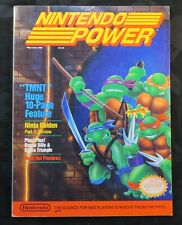 1989 Nintendo Power Magazine #6 NES Teenage Mutant Ninja Turtles Mega Man Poster