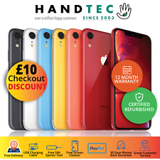 Apple iPhone XR  - 64GB/128GB/256GB - All Colours, Good Condition Smartphone