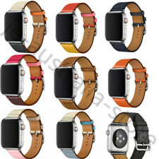 Leather Watch Band Strap Herme Belt Single Tour for Apple Watch Series 54/3/2/1