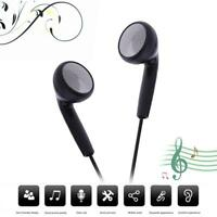 Universal Music Earphone 3.5mm Wired Headphone Headset w/Mic for Phone MP3