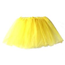 Fashion Baby Girls High Quality Pleated Tutu Ballet Skirts Fancy Party Skirt