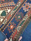 Old Killim rug Shahsavan Mafrash Panel Sumak Natural Colours