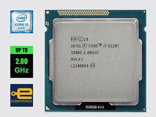 Intel Core i3-3220T 2.80 GHz Dual Core - Sandy Bridge - LGA1155 - 100% Tested