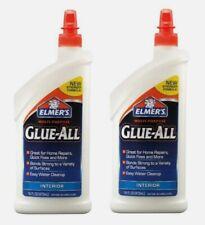 2pk Elmer's GLUE-ALL 16 oz High Strength Adhesive Interior Quick Non-Toxic E3830