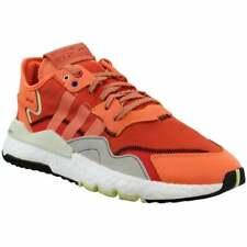 Adidas Nite Jogger Con Cordones Tenis Zapatos informales para hombres-Naranja