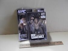 "UFC Diego ""Nightmare"" Sanchez 6""in Action Figure Zufa 2010  ""Squished Package"""
