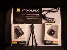 USB AC Adapter + Warranty for Nikon S3300 S4100 S4300 S6100 S6200 S6300 S8200