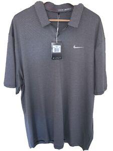 Tiger Woods Golf Polo Nike XXL White/Black