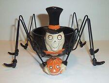 Boney Bunch Big Daddy Long Legs Spider Jar Candle Holder - 2009 Yankee Candle