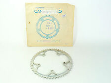 """Campagnolo Record Chainring 9 speed 53T 53/39 135BCD 3/32"""" 7 8 9 NOS"""