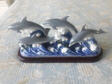 Lladro The Dolphins Retired #01006436 No Reserve Price