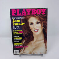 Playboy Magazine February 2000 Angie Everhart, Jeff Bezos Interview