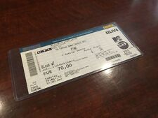 VINTAGE PINK EURO ROCK MUSIC TOUR TICKET 2010 FUNHOUSE