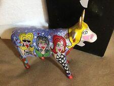"""Cow Parade Figurine """" The Divas """" ( # 7325 -Retired and Rare )"""