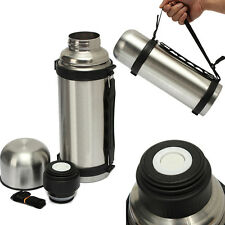 32 Oz Stainless Steel Vacuum Thermoes - Portable Insulated Travel Flask Bottle