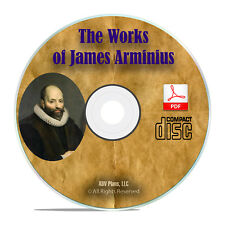 The Works of James Arminius, 3 Vol Bible Commentary Study Calvinism Book H25